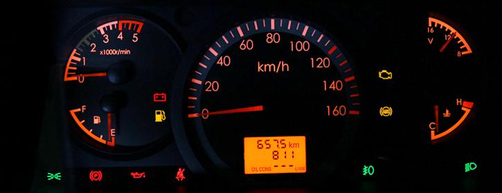 đồng hồ xe ben veam vb652