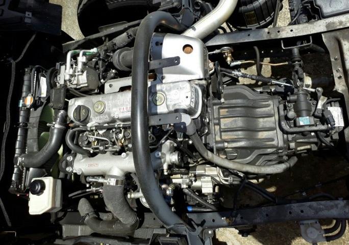 động cơ xe tải hyundai hd72