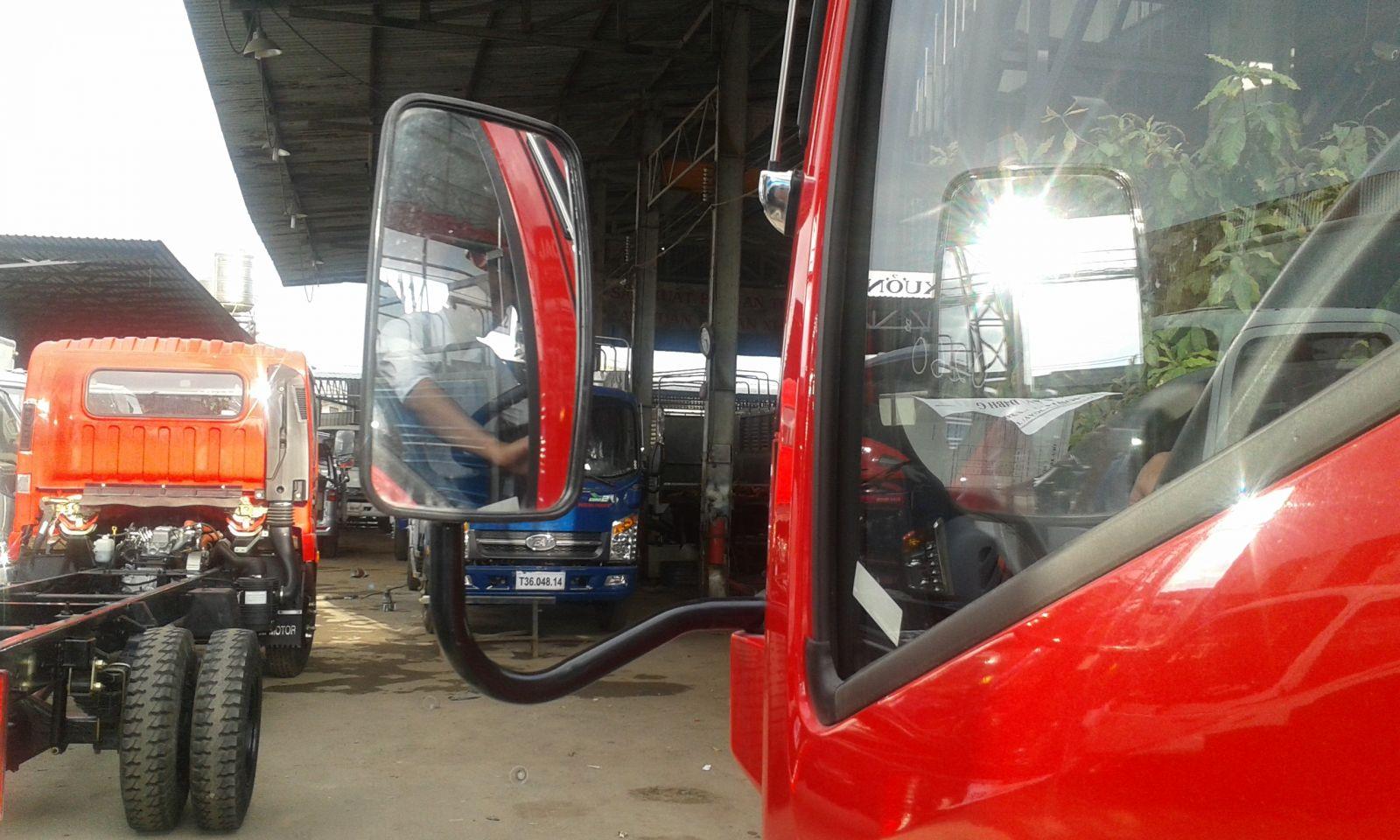 gương chiếu hậu xe tải veam vt260