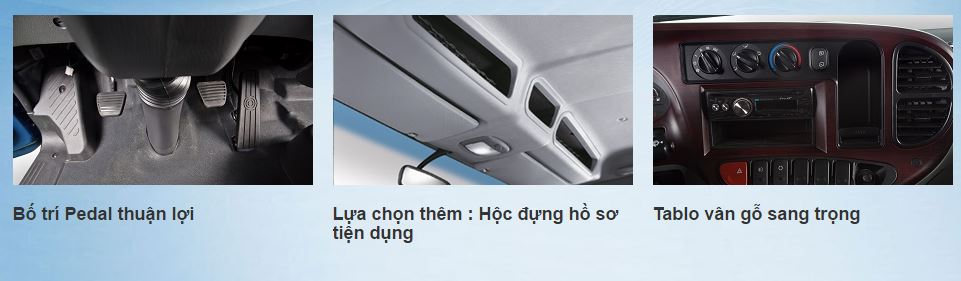 nội thất xe tải hd99