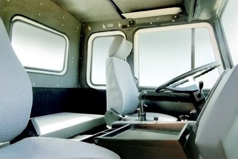 nội thất xe tải veam vt1100
