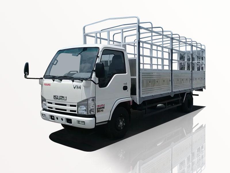 ngoại thất xe tải Isuzu NK490SL 1T9
