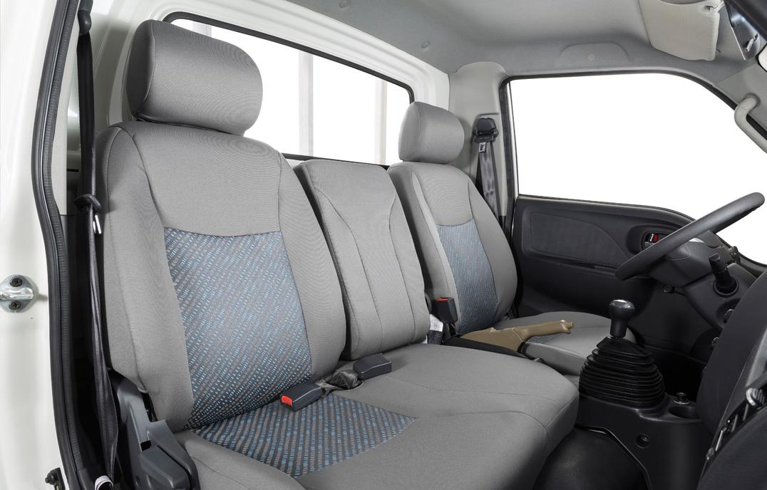 nội thất xe tải jac x5