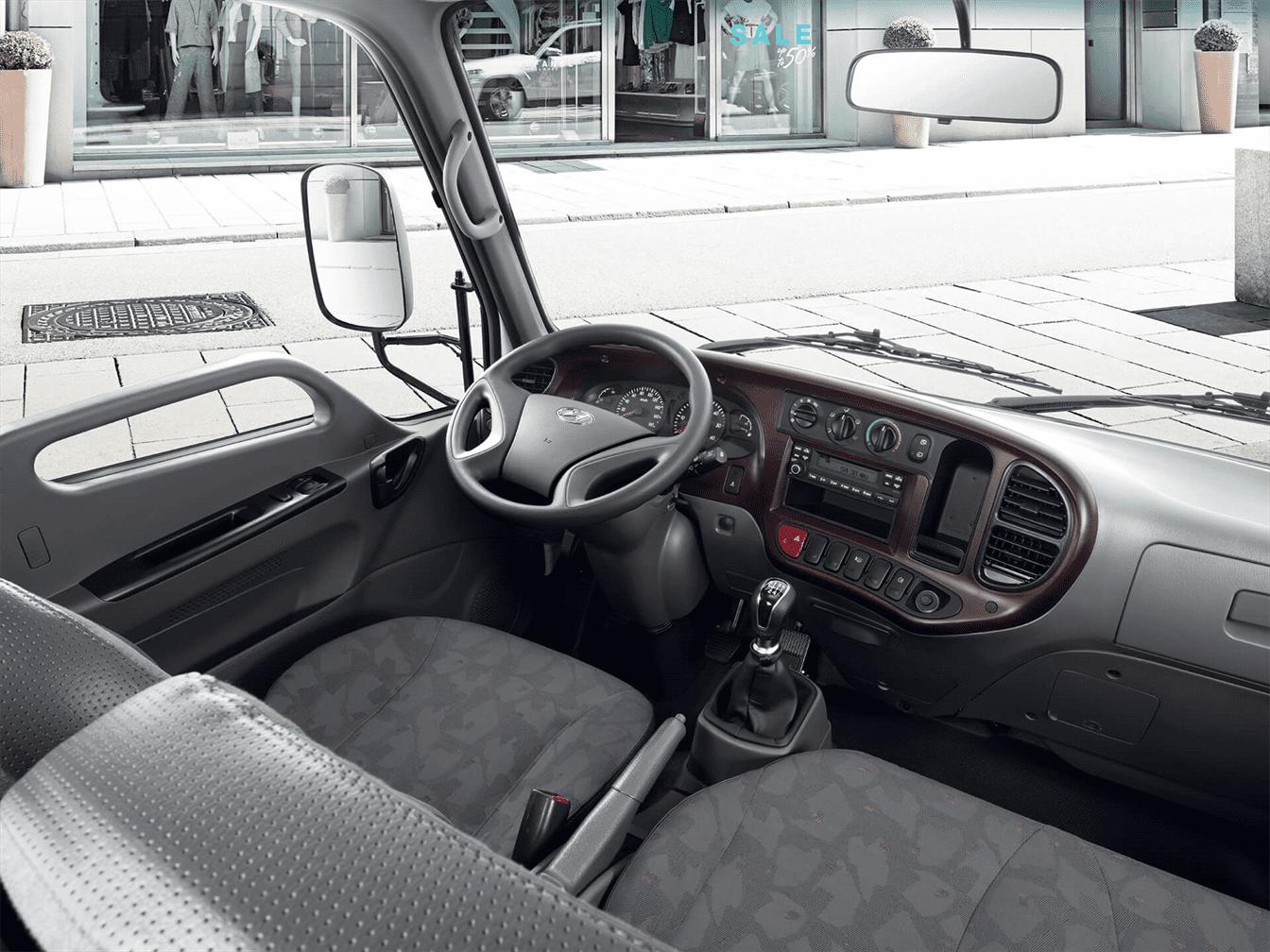 nội thất xe tải n250sl