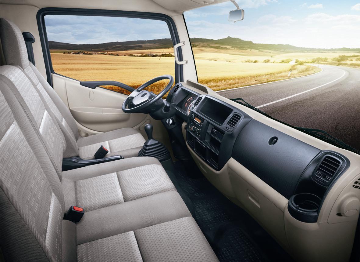 nội thất xe tải veam vpt500