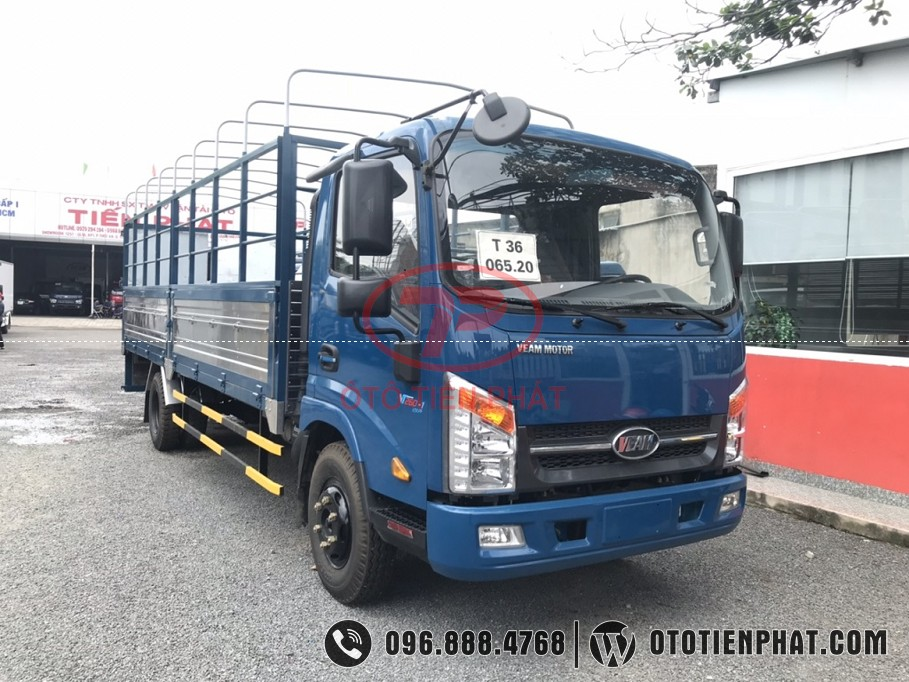 ngoại thất xe tải 3.5 tấn