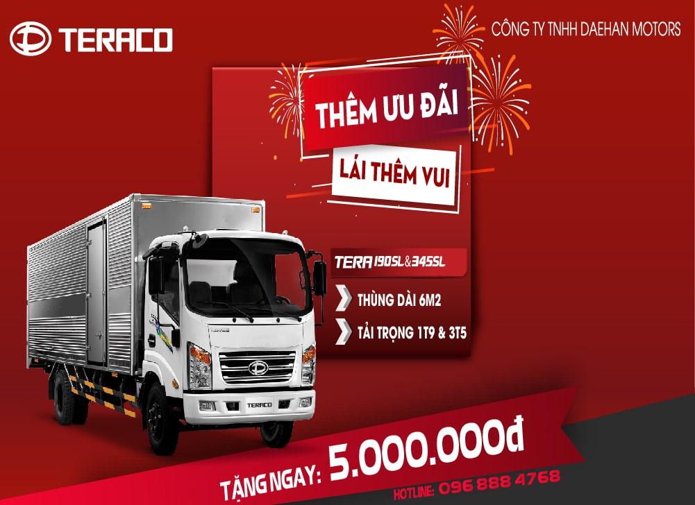 xe tải Teraco 190sl