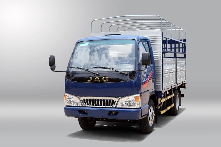 xe tải jac x5 thùng mui bạt