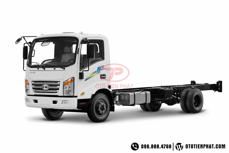 xe tải teraco 190sl thùng dài