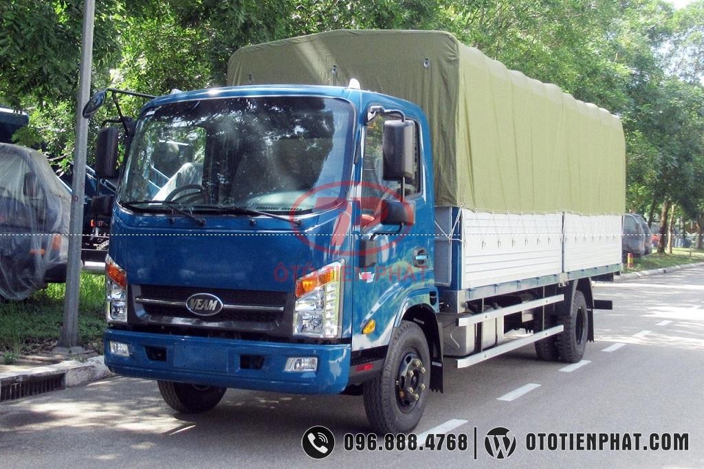 xe veam vt260-1 thùng mui bạt