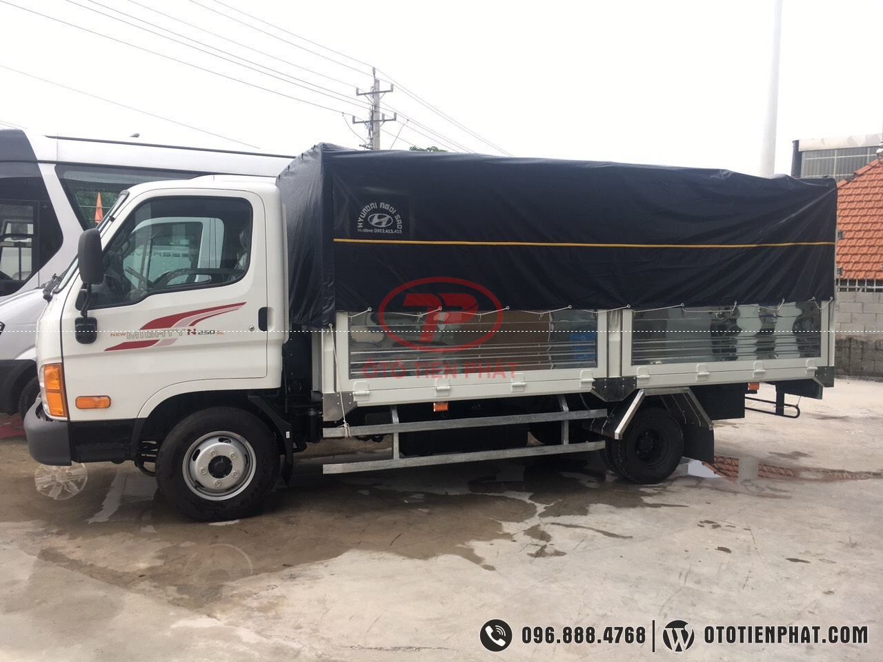 tổng quan xe tải n250sl