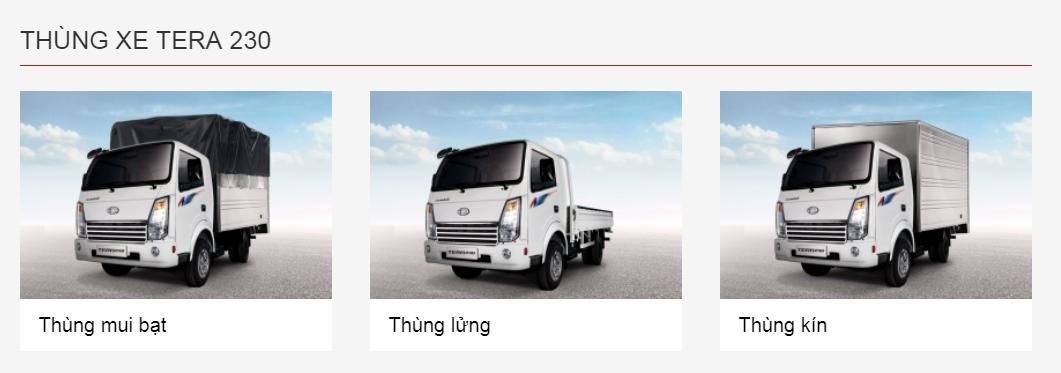 xe tải tera 230 2t4