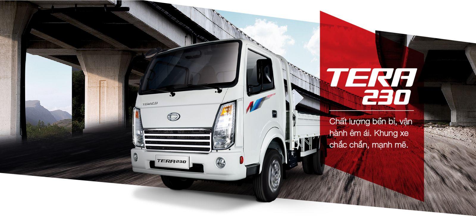 xe tải teraco 230