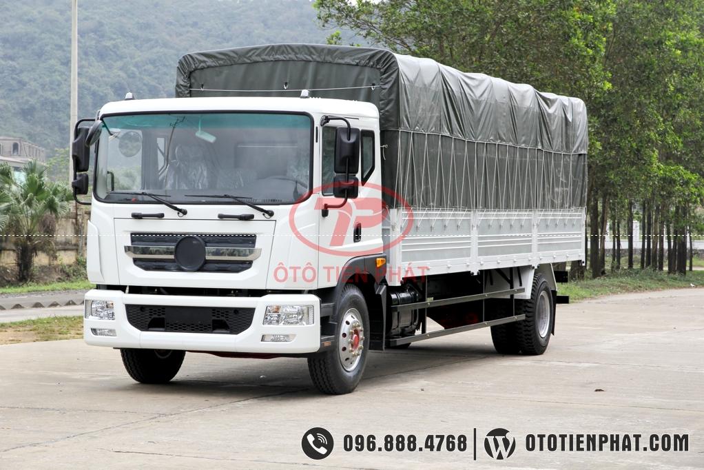 kiểu dáng cabin xe tải veam vpt880