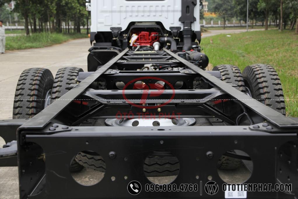 khung gầm xe tải veam vpt950